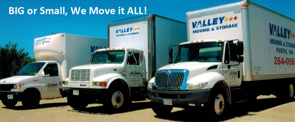 Valley Moving & Storage trucks